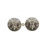 OWL HEAD CUFFLINKS