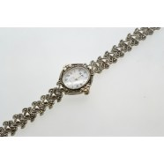 STERLING SILVER MARCASITE WATCH