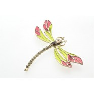 SILVER DAMSELFLY BROOCH (WITH BLUE ENAMEL ONLY IN STOCK)