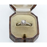 ANTIQUE SOLITAIRE DIAMOND RING