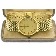 GENTLEMANS GOLD WRIST WATCH