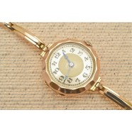 ANTIQUE 15CT GOLD LADIES WRIST WATCH
