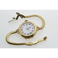 ANTIQUE 9CT GOLD LADIES WRIST WATCH