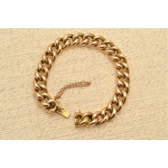 ANTIQUE 15CT CURB LINK BRACELET
