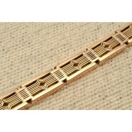 ANTIQUE ROSE GOLD GATE BRACELET