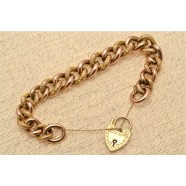 ANTIQUE CURB LINK BRACELET