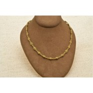 18CT ANTIQUE MUFF CHAIN