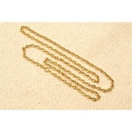 18CT GOLD MARINE LINKED CHAIN