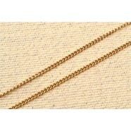 ROSE GOLD CURB LINKED NECKCHAIN
