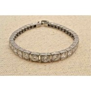 ANTIQUE DIAMOND SET LINE BRACELET
