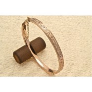 ANTIQUE 9CT ROSE GOLD BANGLE
