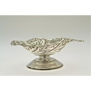 ANTIQUE SILVER BON BON DISH
