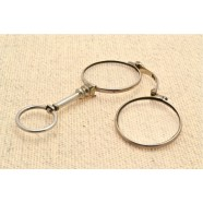 ANTIQUE SILVER LORGNETTE
