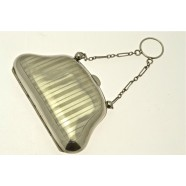 ANTIQUE SILVER PURSE