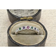 MULTI STONE SET RING