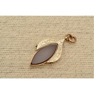 ANTIQUE 10CT GOLD DOUBLE FOB