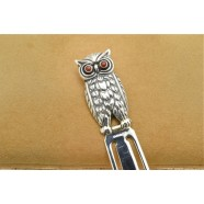 SOLID SILVER BOOKMARK