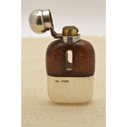 ANTIQUE LADIES HIP FLASK