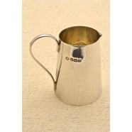 ANTIQUE SOLID SILVER CHRISTENING JUG