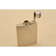 SOLID SILVER HIP FLASK