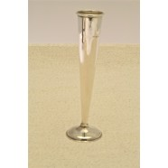 ANTIQUE SOLD SILVER BUD VASE